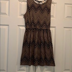 Black and Tan dress